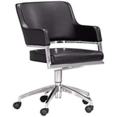 Zuo Performance Collection Black Office Chair