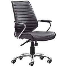 Zuo Enterprise Collection Black Office Chair