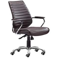 Zuo Enterprise Collection Espresso Office Chair