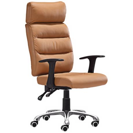 Zuo Unity Collection Clay Leatherette Office Chair