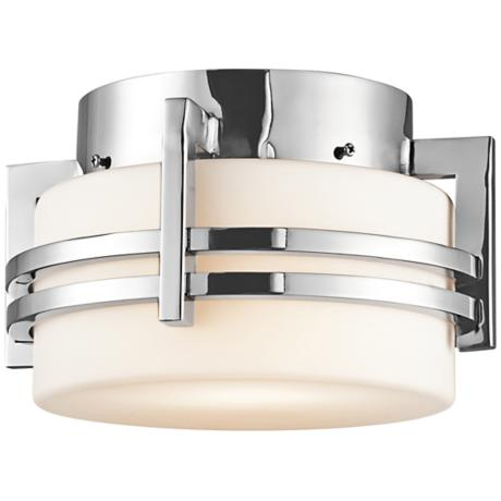 "Kichler Pacific Edge 10 1/2"" Steel Outdoor Ceiling Light"