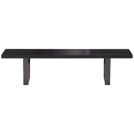 Zuo Heywood Triple Black Bench