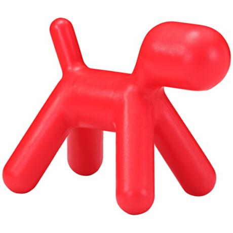 Zuo Pup Red Kids Chair