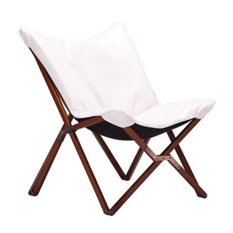 Zuo Draper White Lounge Chair