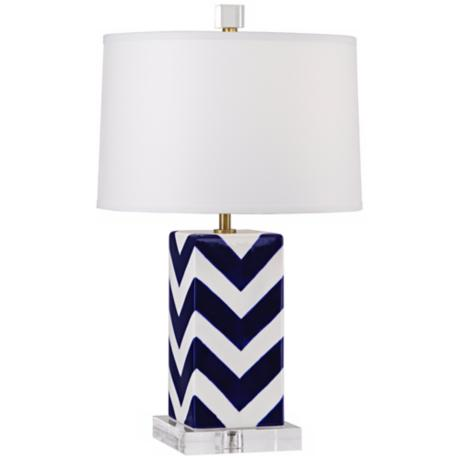 Robert Abbey Mary McDonald Santorini Stripes Accent Lamp