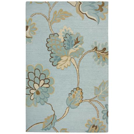 Dimension Collection Sky Blue Area Rug