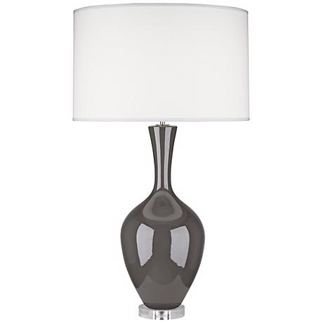 Robert Abbey Audrey Ash Gray Buffet Lamp