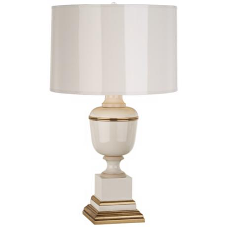 Mary McDonald Annika Ivory and Painted Parchment Accent Lamp
