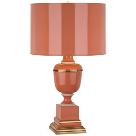 Mary McDonald Annika Tangerine Orange Table Lamp