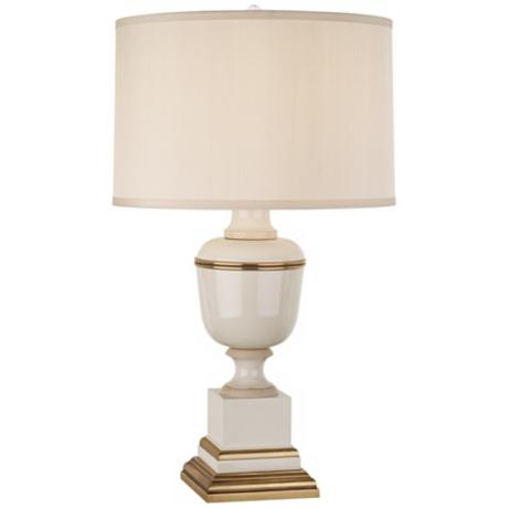 Mary McDonald Annika Cream Ivory and Brass Table Lamp