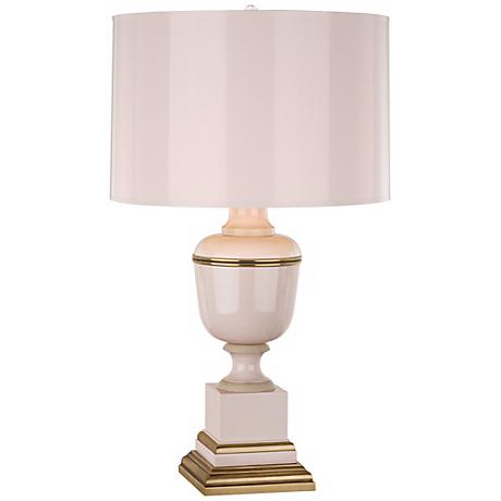 Mary McDonald Annika Blush and Brass Table Lamp
