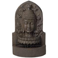 Serene Buddha Indoor-Outdoor Decorative Fountain