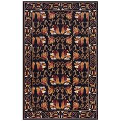 Momeni Nouveau NV-05 Black Area Rug