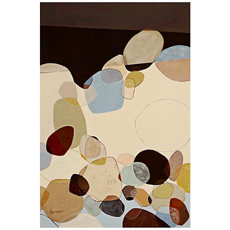 "Spill 36"" High Giclee Wall Art"