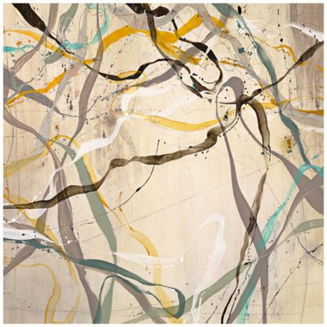 "Intertwined 36"" Square Giclee Wall Art"