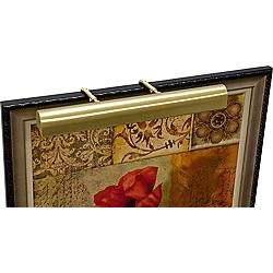 "House of Troy 21"" Wide Satin Brass Adjustable Picture Light"