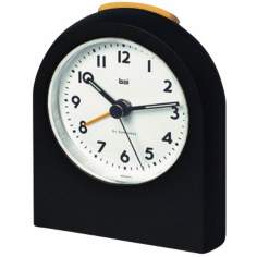 Pick-Me-Up Black Alarm Clock