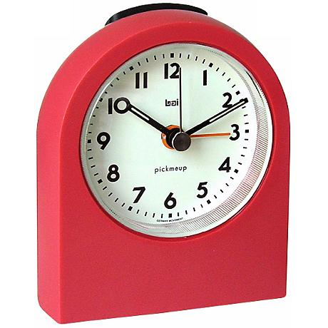 Pick-Me-Up Red Alarm Clock
