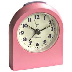 Pick-Me-Up Pink Alarm Clock