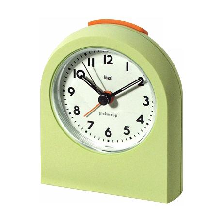 Pick-Me-Up Chartreuse Alarm Clock