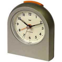 Pick-Me-Up Futura Titanium Alarm Clock