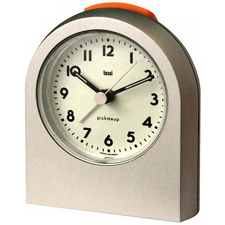 Pick-Me-Up Titanium Alarm Clock