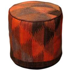 Kilim Collection Kionya Pouf Ottoman