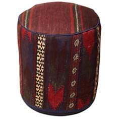 Kilim Collection Berr Pouf Ottoman