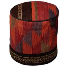 Kilim Collection Salima Pouf Ottoman