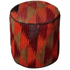 Kilim Collection Nadim Pouf Ottoman