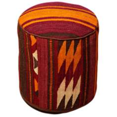 Kilim Collection Amina Pouf Ottoman