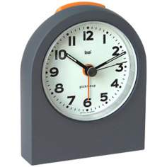 Pick-Me-Up Mega Gunmetal Alarm Clock