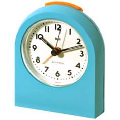 Pick-Me-Up Turquoise Alarm Clock