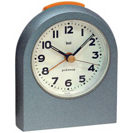 Pick-Me-Up Mega Metal Blue Alarm Clock