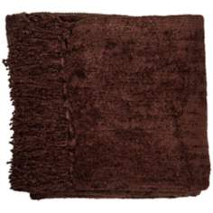 Wellesley Bark Tone Chenille Throw Blanket