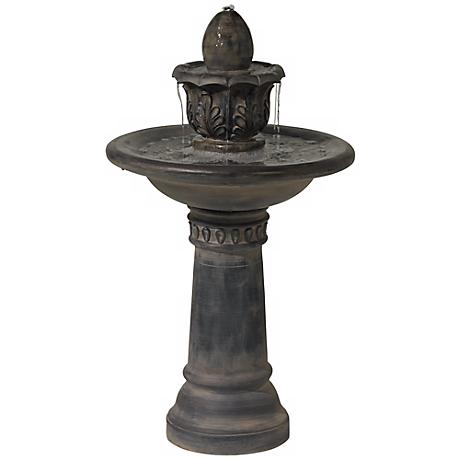 Italian Courtyard Slate Indoor-Outdoor Fountain