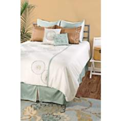 Contemporary Floral Duvet Bedding Set