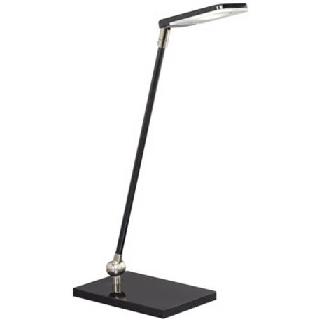 Granite Black LED Desk Lamp