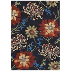 Loloi Sunshine SS-03 Black Area Rug