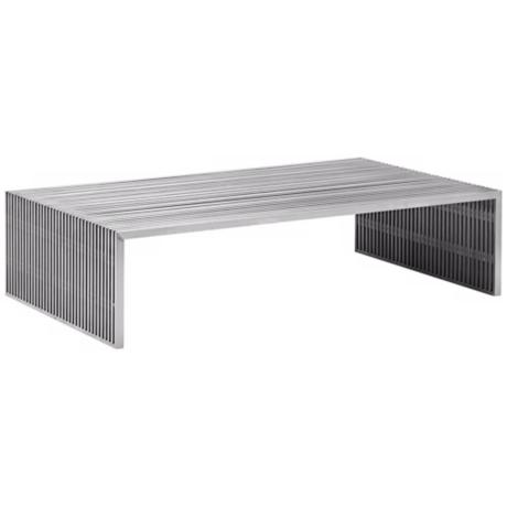 Zuo Modern Novel Steel Coffee Table