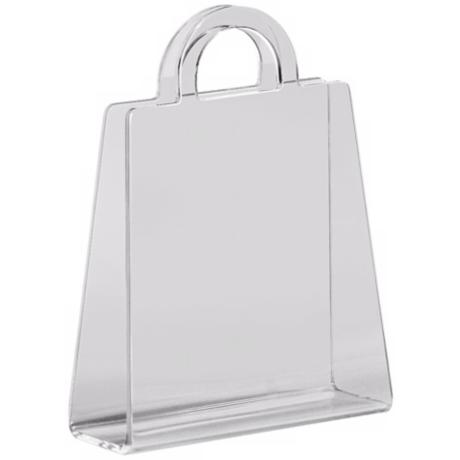 Zuo Purse Transparent Modern Magazine Rack