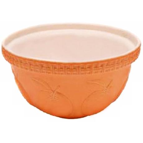 Orange Fruit 5 1/4 Quart Mason Cash Mixing Bowl