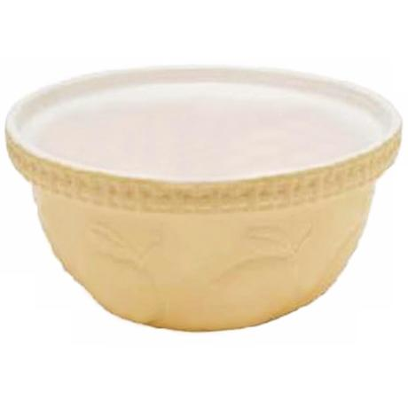 Lemon Fruit 5 1/4 Quart Mason Cash Mixing Bowl