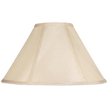 Champagne Empire Lamp Shade 7x21x13 (Spider)