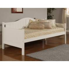 Hillsdale Staci Beadboard White Wood Daybed