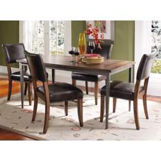 Hillsdale Cameron Rectangle Parsons 5-Piece Dining Set