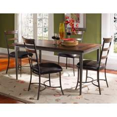 Hillsdale Cameron Rectangle Ladder Back 5-Piece Dining Set