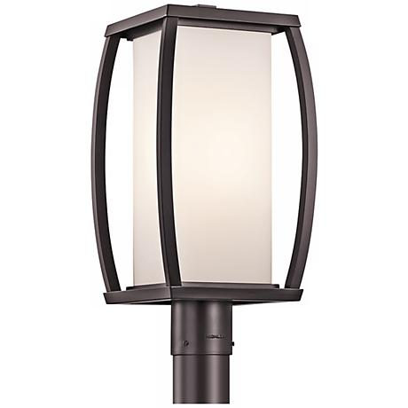 "Kichler Bowen 18 1/2"" High Bronze Outdoor Post Light"
