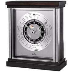 "Wyndmere 9"" High Bulova Executive Desk Clock"