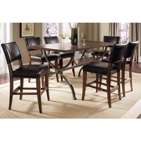 Hillsdale Cameron Parsons 7-Piece Counter Height Dining Set